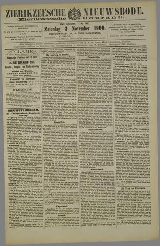 Zierikzeesche Nieuwsbode 1900-11-03