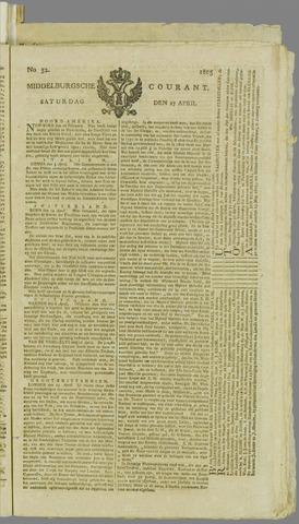 Middelburgsche Courant 1805-04-27