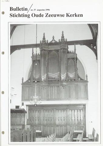 Bulletin Stichting Oude Zeeuwse kerken 1996-08-01