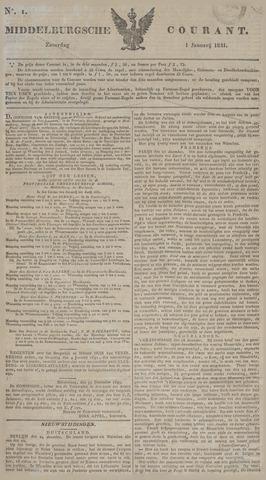 Middelburgsche Courant 1831