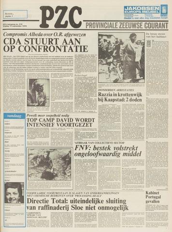 Provinciale Zeeuwse Courant 1978-09-15
