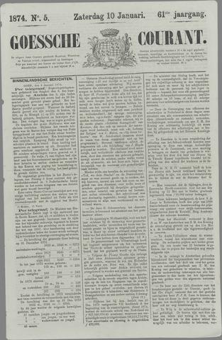 Goessche Courant 1874-01-10