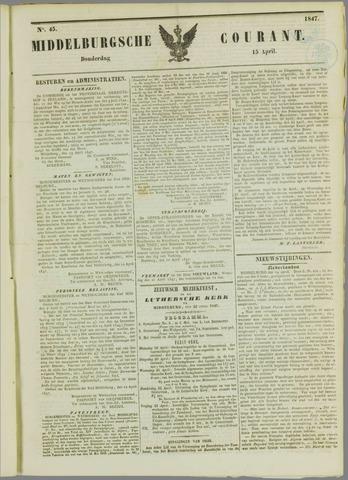 Middelburgsche Courant 1847-04-15