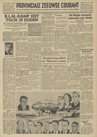Provinciale Zeeuwse Courant 1948-10-22