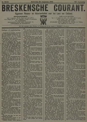 Breskensche Courant 1915-08-21
