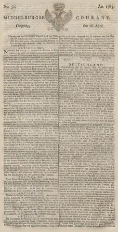 Middelburgsche Courant 1763-04-26