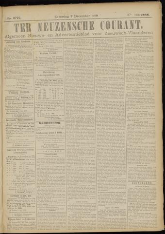Ter Neuzensche Courant. Algemeen Nieuws- en Advertentieblad voor Zeeuwsch-Vlaanderen / Neuzensche Courant ... (idem) / (Algemeen) nieuws en advertentieblad voor Zeeuwsch-Vlaanderen 1918-12-07
