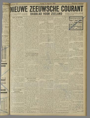Nieuwe Zeeuwsche Courant 1920-08-13