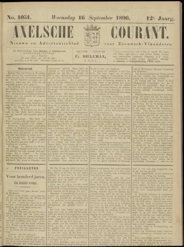 Axelsche Courant 1896-09-16