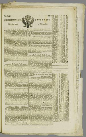 Middelburgsche Courant 1810-11-27