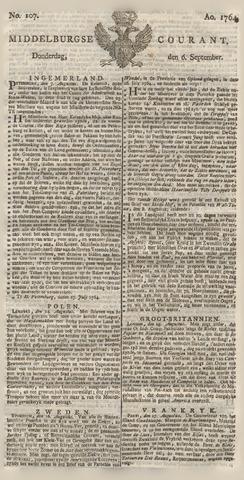 Middelburgsche Courant 1764-09-06