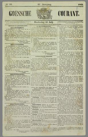 Goessche Courant 1862-07-10