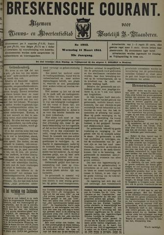 Breskensche Courant 1914-03-11