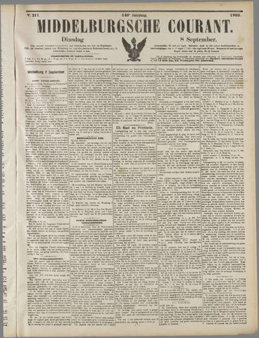 Middelburgsche Courant 1903-09-08