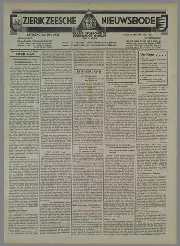 Zierikzeesche Nieuwsbode 1936-05-16