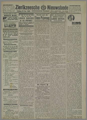 Zierikzeesche Nieuwsbode 1932-12-23
