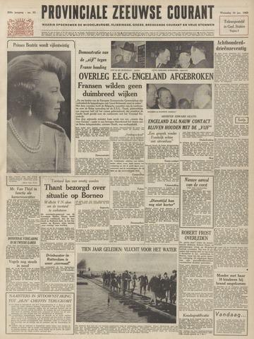 Provinciale Zeeuwse Courant 1963-01-30