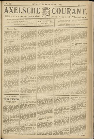 Axelsche Courant 1925-11-24