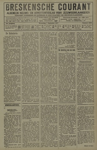 Breskensche Courant 1927-09-07