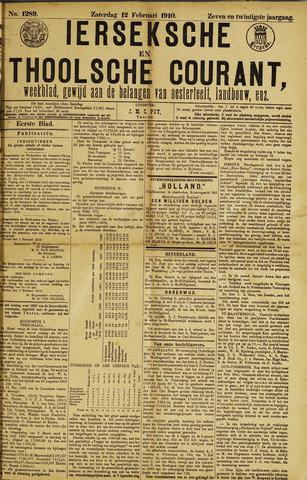 Ierseksche en Thoolsche Courant 1910-02-12
