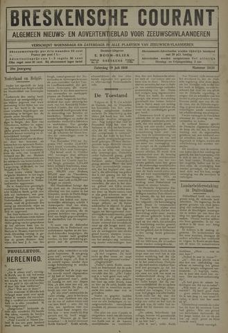 Breskensche Courant 1919-07-19