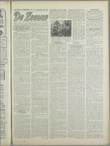 De Zeeuw. Christelijk-historisch nieuwsblad voor Zeeland 1943-08-02