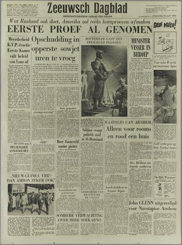 Zeeuwsch Dagblad 1962-04-26