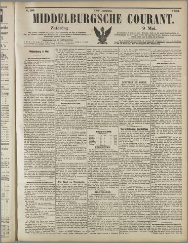 Middelburgsche Courant 1903-05-09