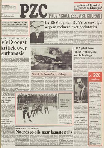 Provinciale Zeeuwse Courant 1986-03-04