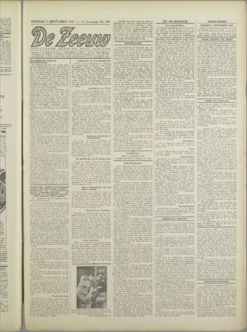 De Zeeuw. Christelijk-historisch nieuwsblad voor Zeeland 1943-09-07