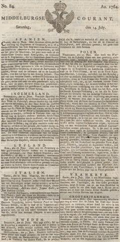 Middelburgsche Courant 1764-07-14