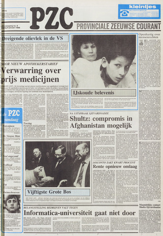 Provinciale Zeeuwse Courant 1988-01-08
