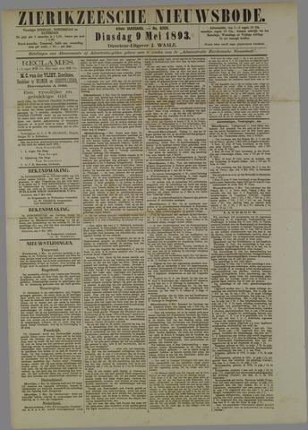 Zierikzeesche Nieuwsbode 1893-05-09
