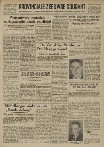 Provinciale Zeeuwse Courant 1949-10-06