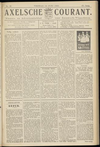 Axelsche Courant 1931-06-12