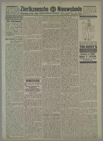 Zierikzeesche Nieuwsbode 1933-02-08
