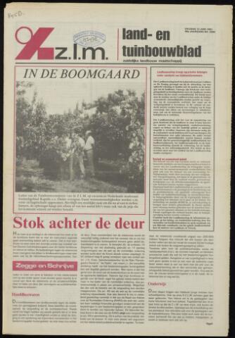 Zeeuwsch landbouwblad ... ZLM land- en tuinbouwblad 1981-06-12