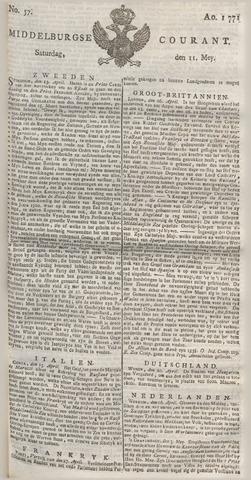Middelburgsche Courant 1771-05-11
