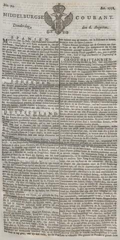 Middelburgsche Courant 1778-08-06