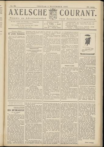 Axelsche Courant 1937-11-05
