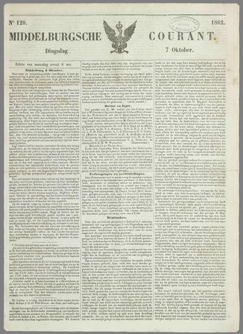 Middelburgsche Courant 1862-10-07