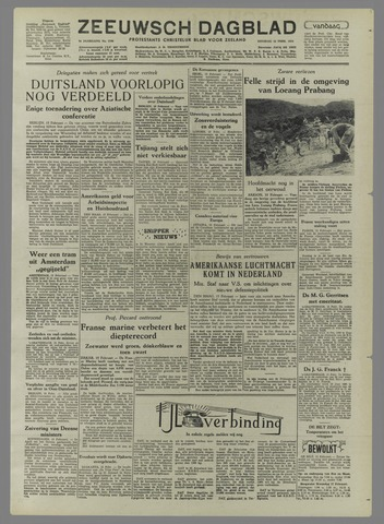Zeeuwsch Dagblad 1954-02-16