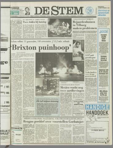 de Stem 1985-09-30