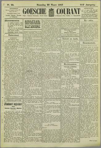 Goessche Courant 1927-03-28