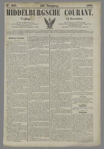 Middelburgsche Courant 1888-12-14