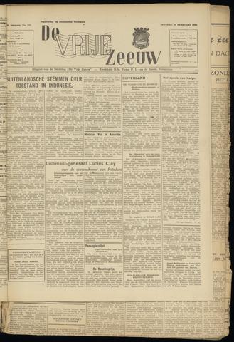 de Vrije Zeeuw 1946-02-26