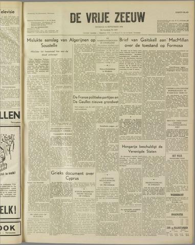 de Vrije Zeeuw 1958-09-16