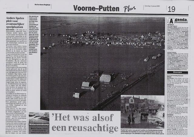 Watersnood documentatie 1953 - diversen 2003-01-11