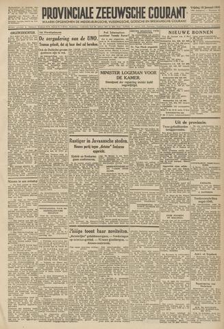 Provinciale Zeeuwse Courant 1946-01-18