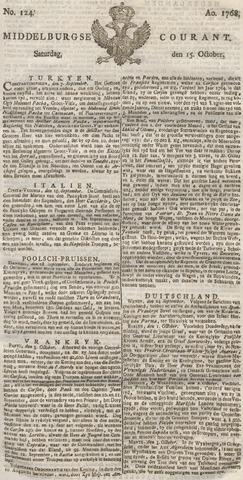 Middelburgsche Courant 1768-10-15